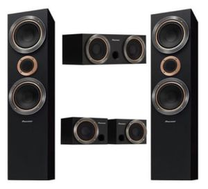 Home theater pioneer speaker system for Sale in Margate, FL