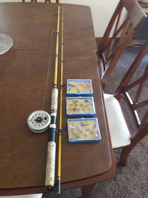 Fly rod and reel with extra flies for Sale in Boulder City, NV