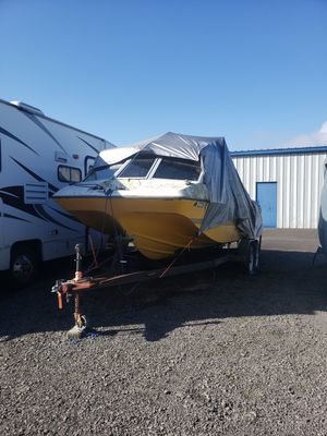 Fiber form boat and 175hp motor with trailer for Sale in Vancouver, WA