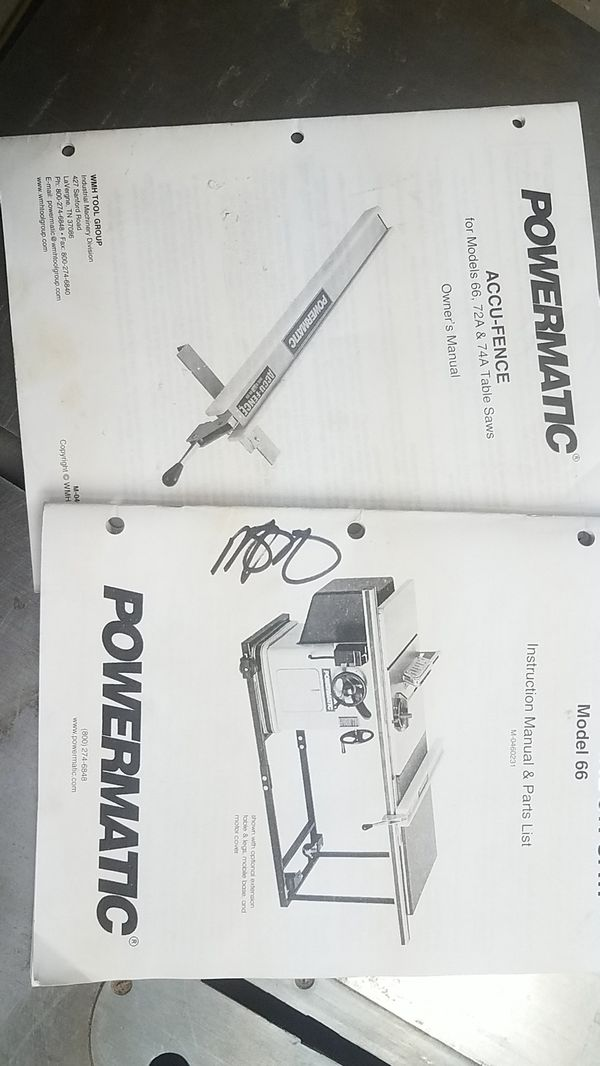 Powermatic Table Saw for Sale in Las Vegas, NV - OfferUp