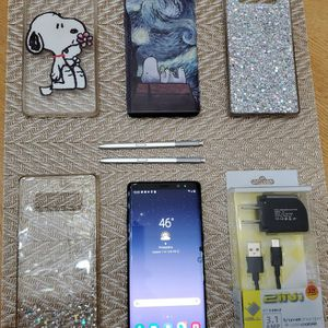 FULLY FUNCTIONAL Samsung Galaxy Note 8 for T-Mobile w/ Screen Damage for Sale in Philadelphia, PA