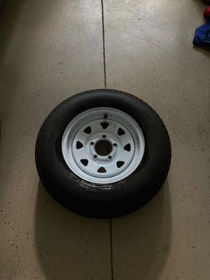 Trailer tire basically brand new for Sale in Tampa, FL