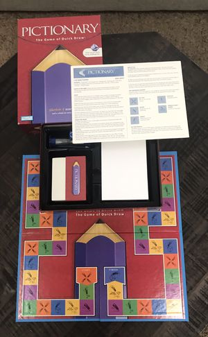 Pictionary Board Game Complete for Sale in Port St. Lucie, FL