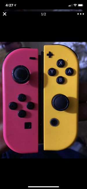 !!!ONE!!! PAIR of Nintendo Switch joy-cons for Sale in Wildomar, CA