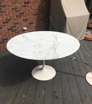 2 knoll marble tables for Sale for sale  Paramus, NJ