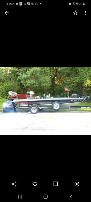 STRATOS BASS BOAT FOR SALE for Sale in Thornton, IL
