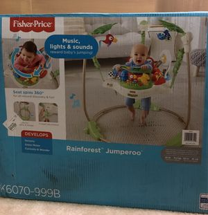 Fisher price rain forest jumperoo for Sale in Clarksburg, MD