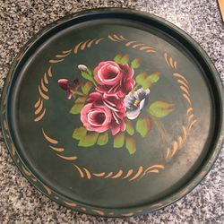 Hand Painted Tray Vintage for Sale in Dunwoody,  GA