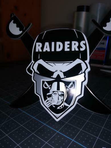 Raiders custom hitch