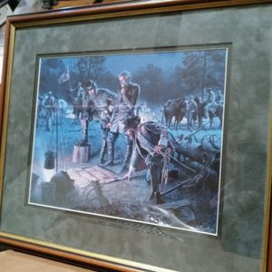 """The Last Council"" By Mort Kunstler for Sale in Snellville, GA"