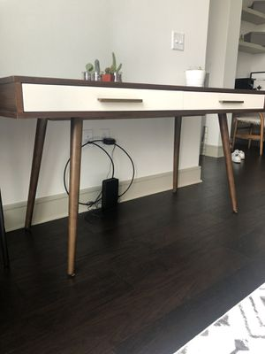 Mid century Zarek desk for Sale in Portage, MI