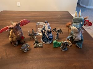Fantasy figurines and Beanie Babies for Sale in Las Vegas, NV