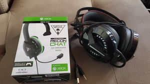 Turtle beach and Combat wing headset for Sale in Redwood City, CA