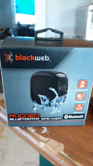 Blackweb bluetooth speaker for Sale in El Dorado, AR
