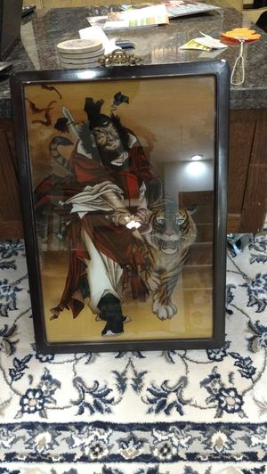 Wall art - Samurai and tiger for Sale in Washington, DC