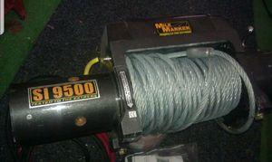 HD 9500lbs Mile Marker winch for Sale in Feasterville-Trevose, PA