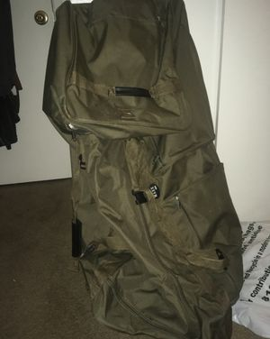 Luggage bag ( military green ) for Sale in Montclair, CA