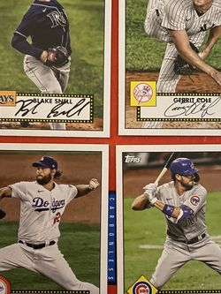 2021 Topps Baseball Cards 4 Autographed Cards for Sale in Pleasant Hill,  IA