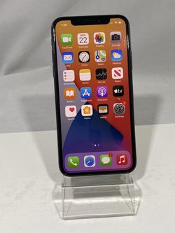 iPhone X 64GB Silver Unlocked for Sale in Des Moines,  WA