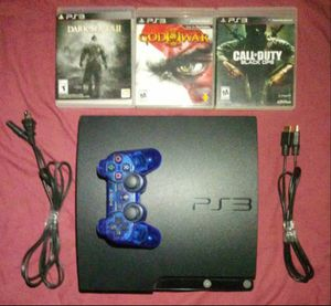 PS3 Slim [250gb] Bundle for Sale in Los Angeles, CA