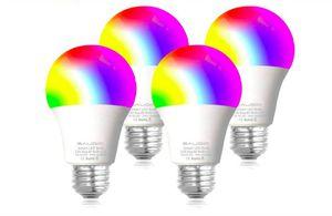 Smart WiFi Alexa Light Bulbs, SAUDIO LED RGB Color Changing Bulbs, Works with Alexa, Echo, Google Home & Siri, 2.4GHz WiFi Only, No Hub 4 Pack for Sale in Rancho Cucamonga, CA