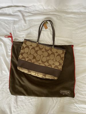 Coach Large Tote Bag for Sale in San Antonio, TX