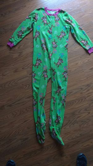 Footed pajamas size Medium/12-14 girls for Sale in Tacoma, WA
