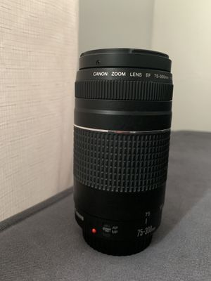 Canon 75-300mm lense for Sale in Baltimore, MD