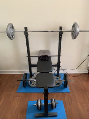 Weights & bench for Sale in Cortlandt, NY
