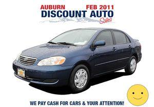 2005 Toyota Corolla for Sale in Auburn, WA