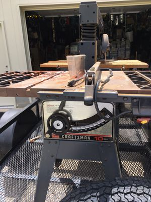 "Craftsman 10"" Table Saw for Sale in Inman, SC"
