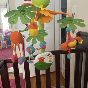 Crib Mobile Toy And Skip Hop Owl Soother for Sale in Alexandria, VA