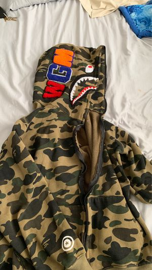 Bape zip up jacket for Sale in Abilene, TX
