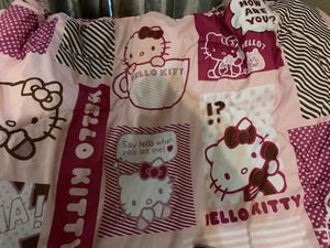 Twin Hello Kitty Reversible Comforter for Sale in McDonough, GA