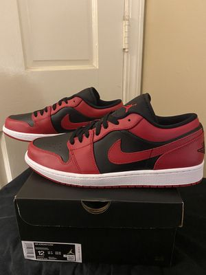 Jordan 1 low reverse bred size 12 new og box 📦 for Sale in High Point, NC