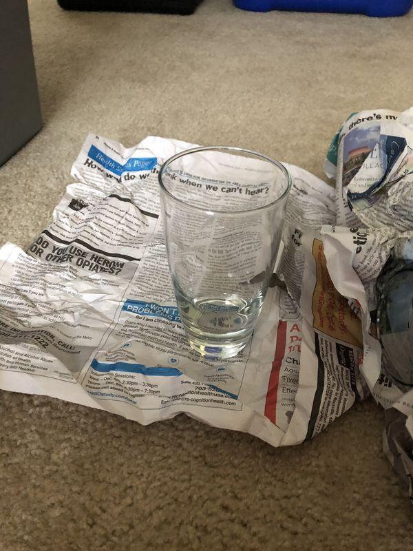 FREE 8 Drinking Glasses