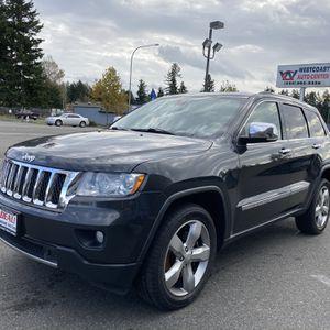 2011 Jeep grand Cherokee Overland for Sale in Tacoma, WA
