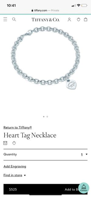 Tiffany neckless and bracelet for Sale in Cincinnati, OH