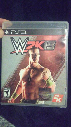 WWE 2K15 PS3 video game for Sale in Sanborn, NY