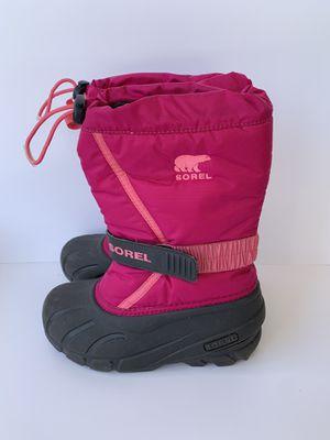 Sorel snow boots size 1 kids for Sale in Sun City, AZ