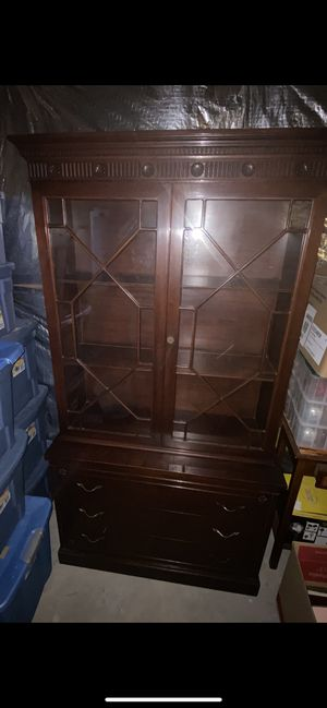 Antique China Cabinet for Sale in UPPR MARLBORO, MD