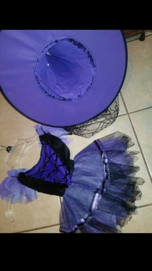 girl witch dress Halloween costume size 2 -3 yrs. $25 for Sale in Mesquite, TX