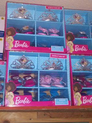 Barbie girl tiara set for Sale in Riverside, CA