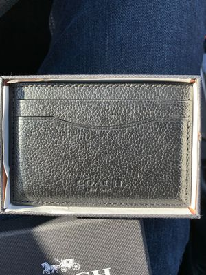 Coach Card Wallet for Sale in Olney, MD
