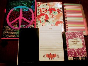 Stationary Books Bundle of 6 for Sale in Fresno, CA