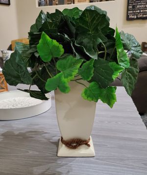 Decorative plant with vase for Sale in North Las Vegas, NV