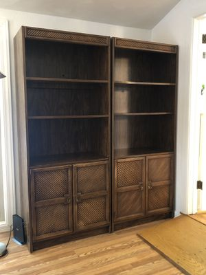 3 SOLID WOOD BOOKSHELVES for Sale in UPPR Saint CLAIR, PA