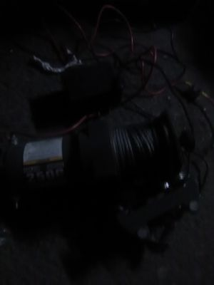 2500 atv winch with remote for Sale in Torrance, CA