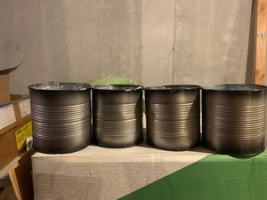 Brand new Pot cover 4 inch Tin ribbed for Sale in Denver, CO