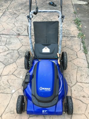 Electric lawnmower kobalt for Sale in San Jose, CA